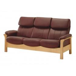 Kožená sedačka CHICAGO - 3 místná