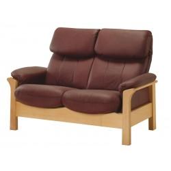 Kožená sedačka CHICAGO - 2 místná