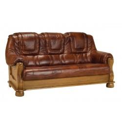 Kožená sedačka ROMA - 3 miestna
