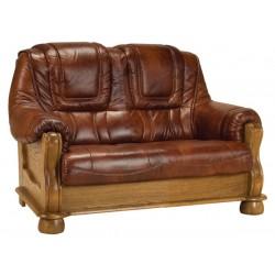 Kožená sedačka ROMA - 2 miestna