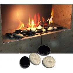 Dekorativní kameny - 6 kusů
