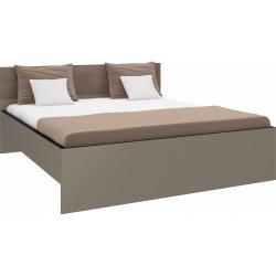Manželská postel BROWN