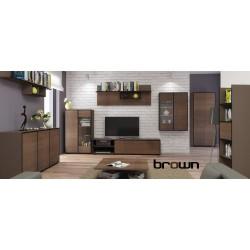 Obývacia stena BROWN