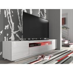 RTV skrinka TV 200 C biela / biely lesk
