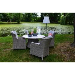 Záhradný jedálenský set GRACE DINING