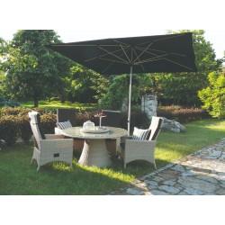 Záhradný jedálenský set WEST