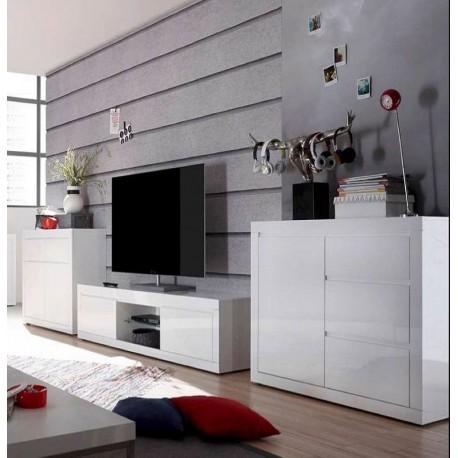 Obývací stěna MAXHOME - COMO BIANCO B