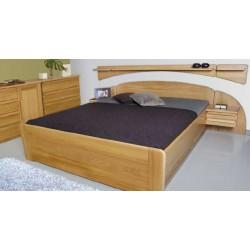 Manželská postel PETRA ( TEX )