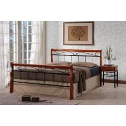 Manželská postel BENÁTKY/WENECJA / antická třešeň