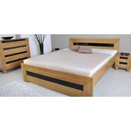 Manželská postel SALMA ( TEX )