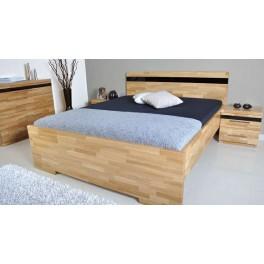 Manželská postel MONA ( TEX )
