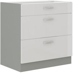 Kuchyňská skříňka BIANKA 80 D 3S BB