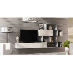 Obývacia stena VIGO 16 / sivá