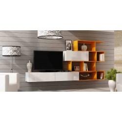 Obývací stěna VIGO 16 / orange