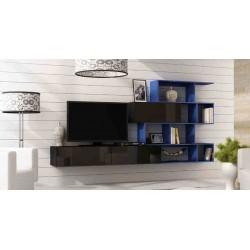 Obývacia stena VIGO XVI - modrá