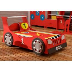 Dětská postel AUTO - s náhradní postelí