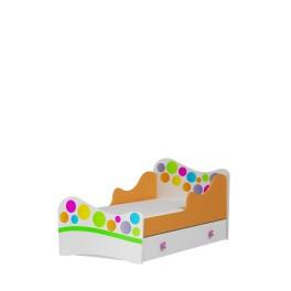 Dětská postel RAINBOW - s náhradní postelí