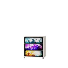 Komoda MUSIC - 3 zásuvky