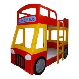 Detská poschodová posteľ LONDON BUS
