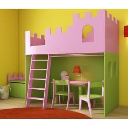 Detská izba ZÁMOK - s rebríkom