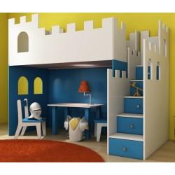 Detská izba ZÁMOK - sa schody