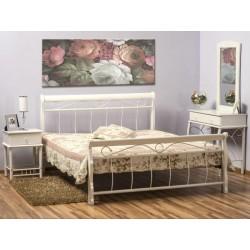 Manželská posteľ BENÁTKY / biela
