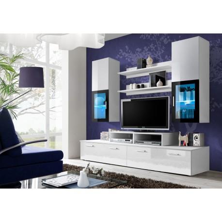Obývací stěna MINI - White