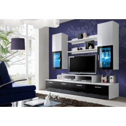 Obývacia stena MINI - Black