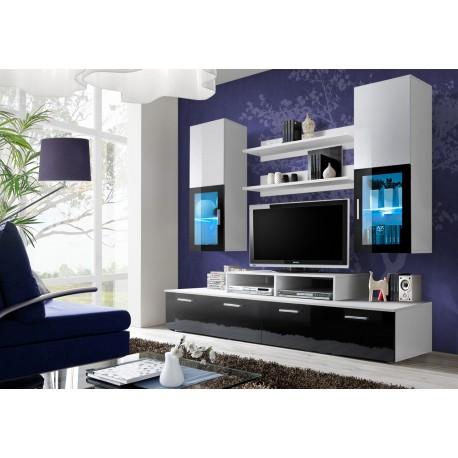Obývací stěna MINI - Black