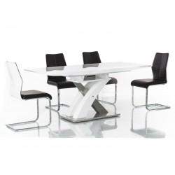 Jedálenský stôl RAUL / biely