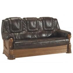 Kožená sedačka ANETA II - 3 místná