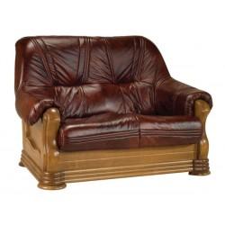 Kožená sedačka ANETA I - 2 místná