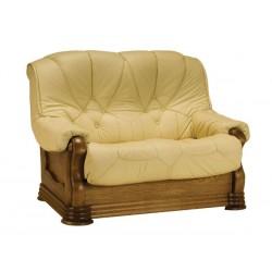 Kožená sedačka ANETA IV - 2 místná