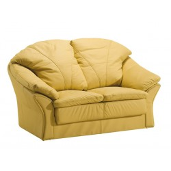 Kožená sedačka BOSTON - 2 místná