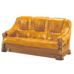Kožená sedačka BOŽENA - 3 místná