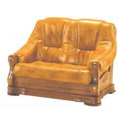 Kožená sedačka BOŽENA - 2 miestna
