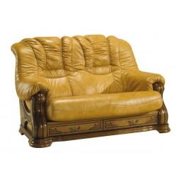 Kožená sedačka CHEVERNY - 2 miestna